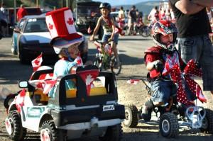 Canada Day 2011 at Koocanusa