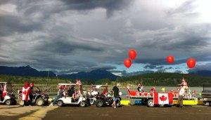 Canada Day at Koocanusa