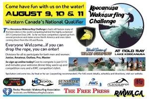 Koocanusa Wakesurfing Challenge