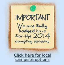 Click here for other local campsite options...