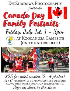 Canada Day Portraits