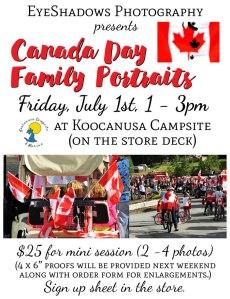 Canada Day Portraits