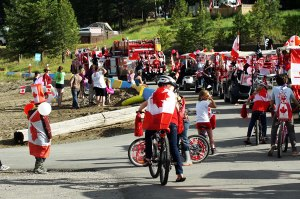 Canada Day at Koocanusa by Anita Braconnier
