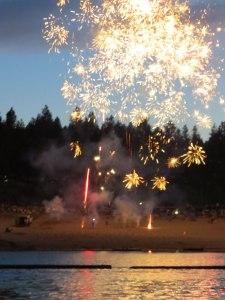 Canada Day 150 Fireworks at Kooocanusa
